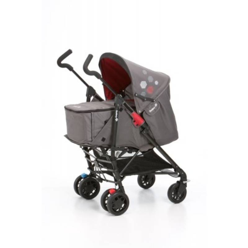Poussette Duo Easy Way Pram + nacelle Safety 1st  | Red Mania