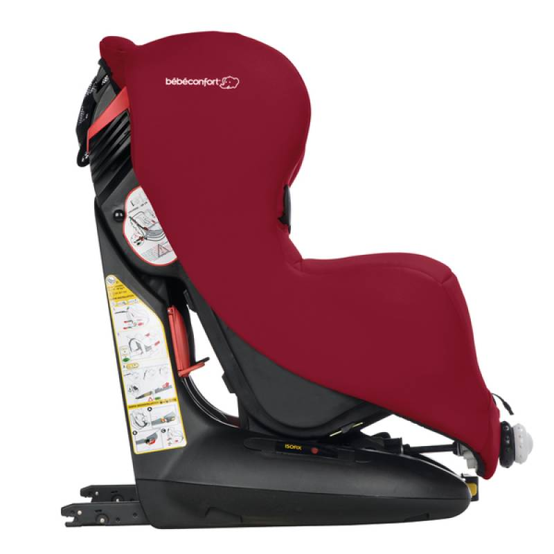 Si ge auto is os isofix raspberry red b b confort outlet for Siege auto bebe confort