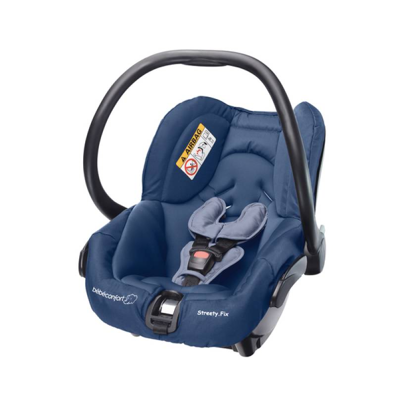Si ge auto dress blue b b confort outlet for Siege auto bebe 0 mois
