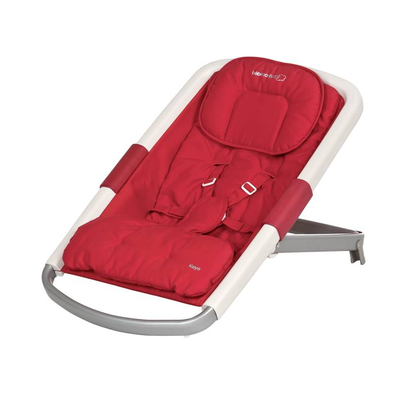 Transat keyo intense red b b confort outlet for Assise chaise keyo
