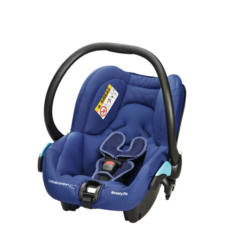 Si ge auto river blue b b confort outlet for Siege auto bebe 0 mois
