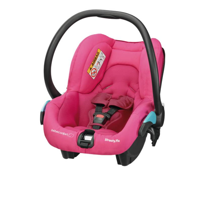 Si ge auto berry pink b b confort outlet for Siege auto bebe 0 mois