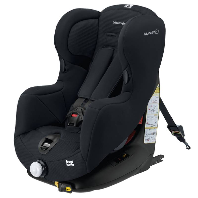 Si ge auto is os isofix total black b b confort outlet for Siege auto pour 6 ans