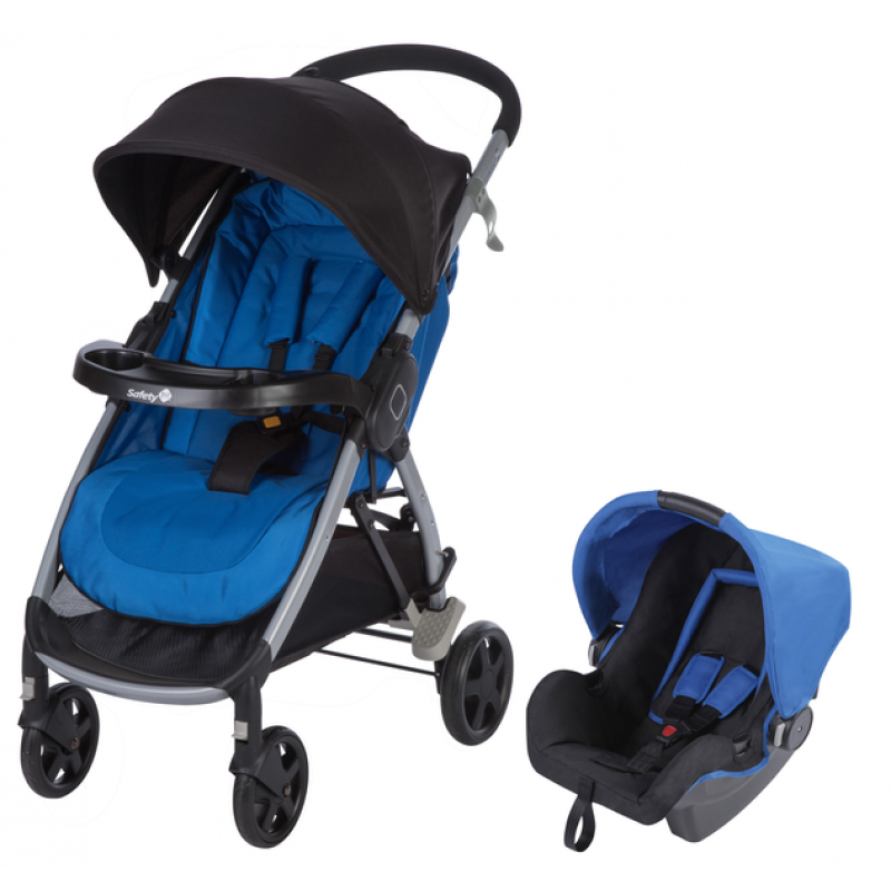 Poussette Duo Step & Go Safety 1st | Baleine Blue (2018)