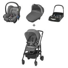 Trio Loola 3 Bébé Confort | Concrete Grey