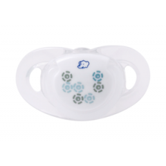Lot de 2 Sucettes Dental Safe Taille 0 Silicone Bébé Confort | Mineral White