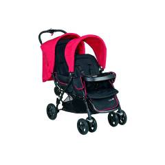 Poussette Tandem Duodeal Safety 1st | Plain Red (2018)