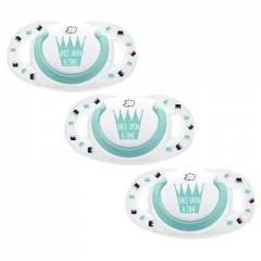 Lot de 3 Sucettes Dental Safe Taille 1 Silicone Bébé Confort | Once Upon A Time (2017)