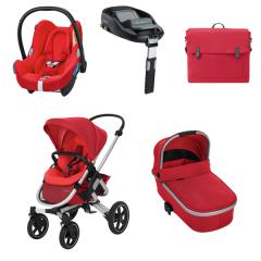 Trio Nova 4 roues Bébé Confort | Vivid Red