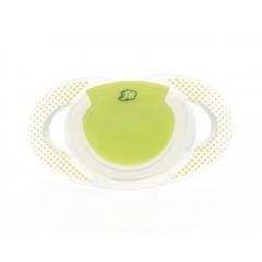 Lot de 2 Sucettes Natural Physio Taille 3 Silicone Graphic Dot Bébé Confort   Green