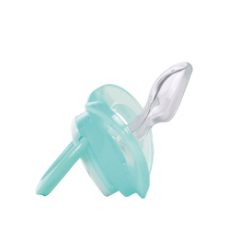 Lot de 2 Sucettes Dental Safe Taille 0 Silicone Bébé Confort | Mineral Blue