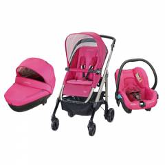 Trio Loola 3 - Windoo Plus - Streety.Fix Bébé Confort - Berry Pink (2015)