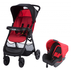 Poussette Combinée Duo Amble Safety 1st | Ribbon Red (2018)