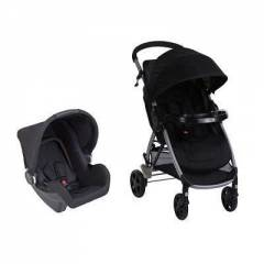 Duo Poussette combinée Step & Go Safety 1st | Full Black (2017)