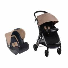 Duo Poussette combinée Step & Go Safety 1st | Sand (2017)