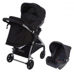 Poussette Duo Step & Go Safety 1st | Full Black (2018)