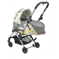 Duo poussette Laika 2 + nacelle Laika Safety carrycot | Urban Yellow (2018)