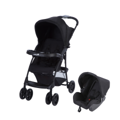 Duo Poussette combinée Amble Safety 1st | Full Black